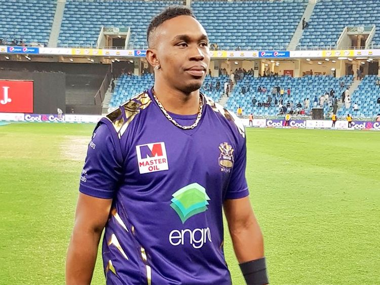 Dwayne Bravo of Multan Sultans