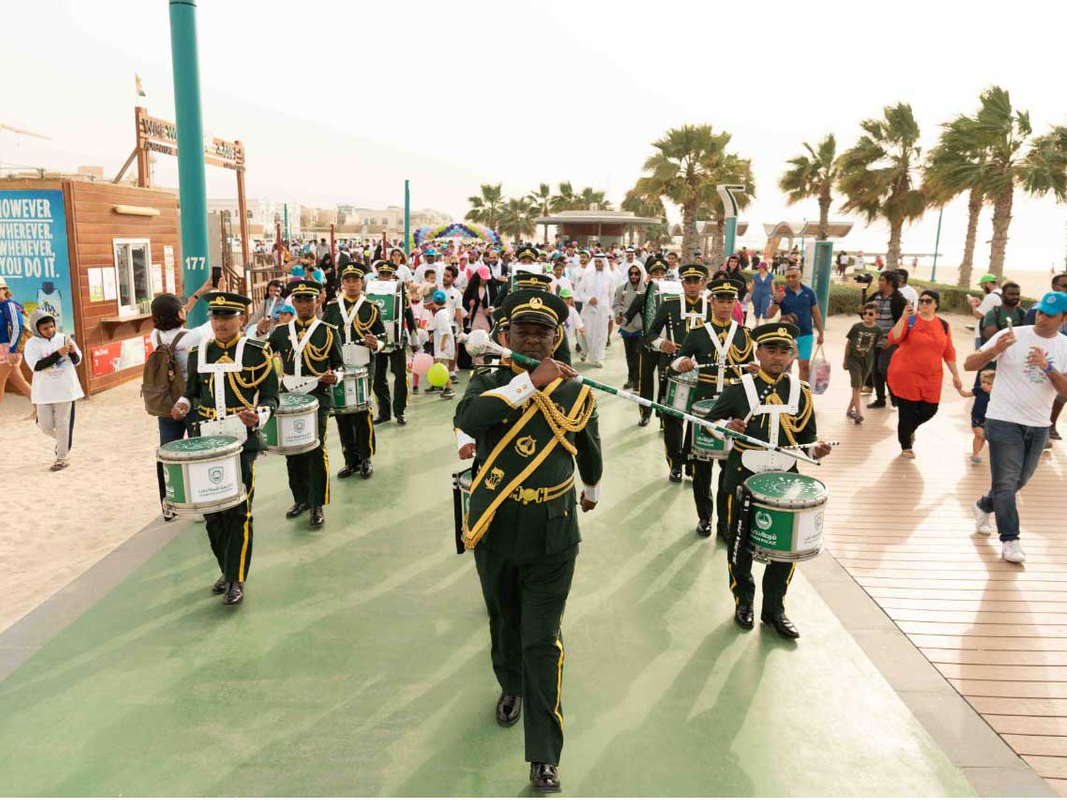 Parade Jumeirah Beach Rare Disease Day