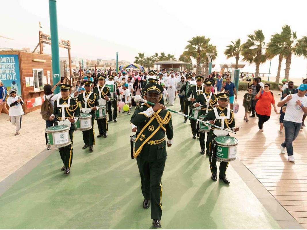 Parade Jumeirah Beach Rare Disease Day