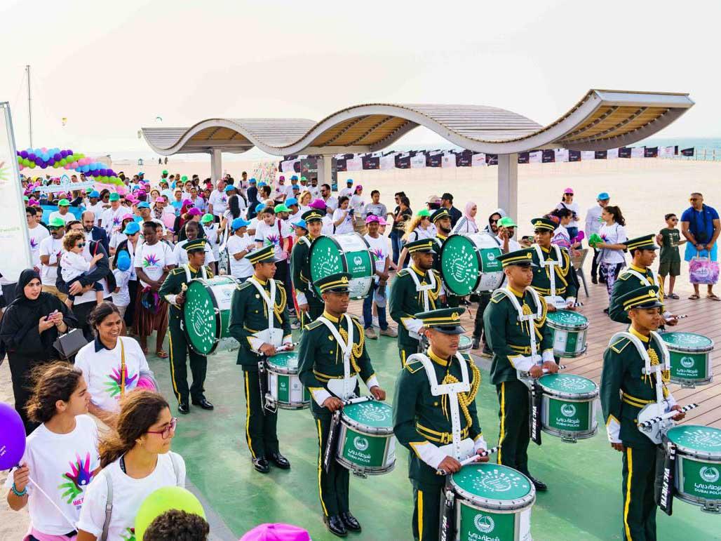 Rare Disease Day parade Dubai 0210