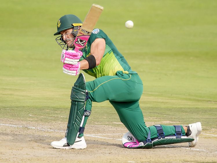 South Africa's Faf du Plessis