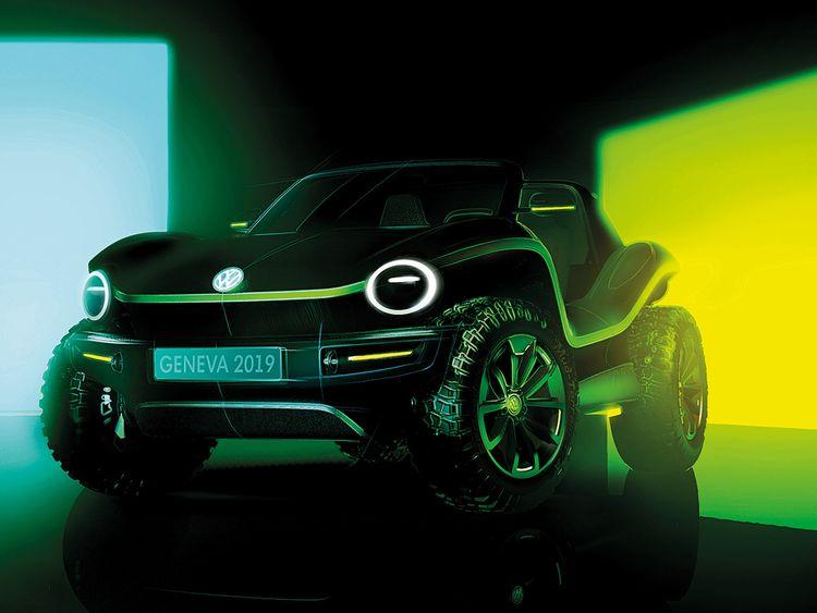 The new Volkswagen Buggy