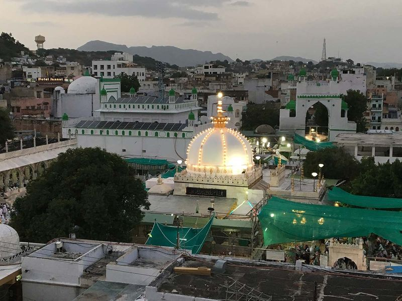 A view of Ajmer Dargah 20190304