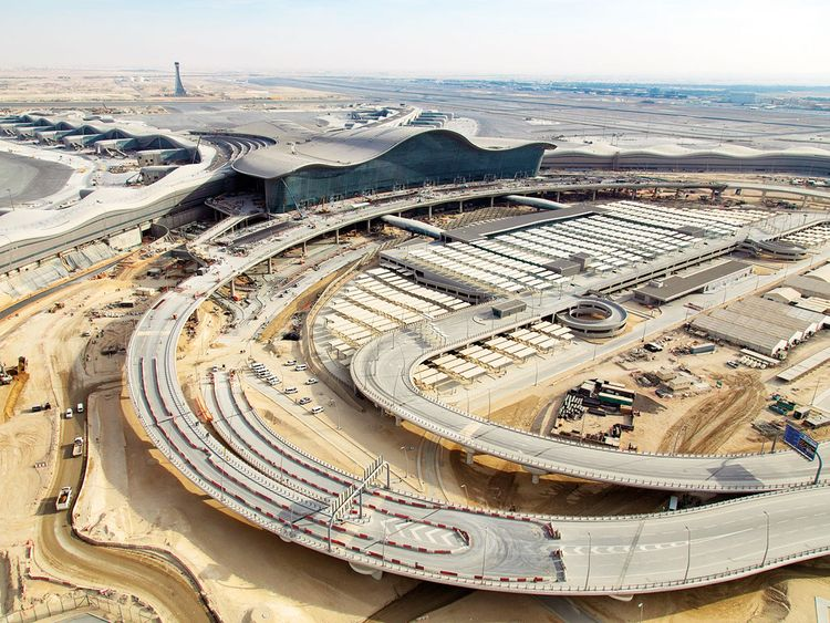 Testing commences at Abu Dhabi's new Dh10 billion airport