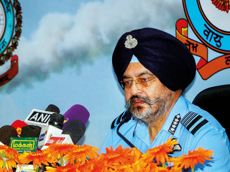 Indian Air Force chief says IAF doesn't count casualties
