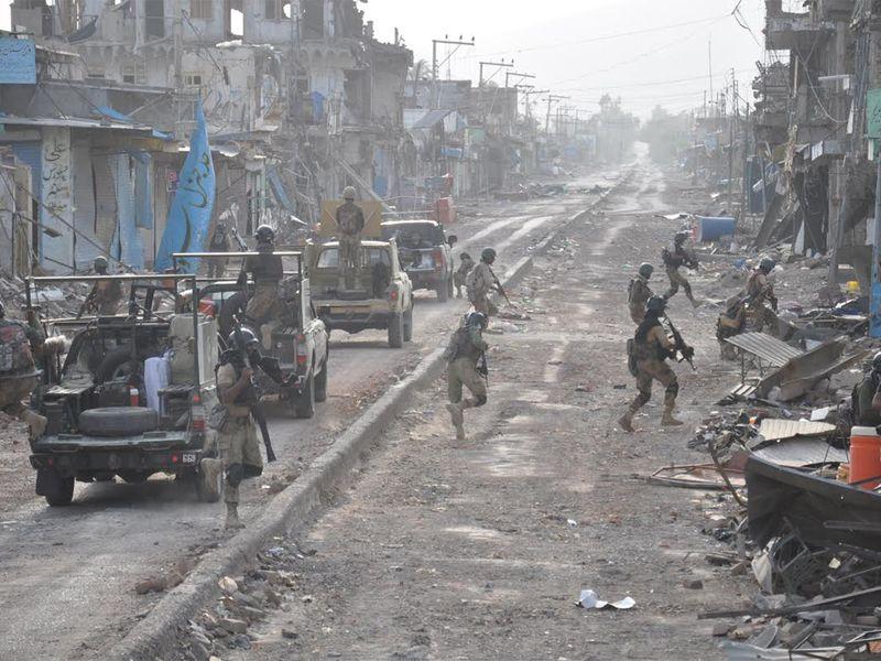 Clearance of Mirali in North Wazirastan in progress