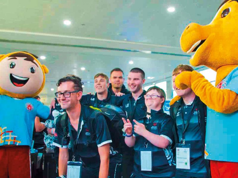 New Zealand are first Special Olympics team to arrive in UAE