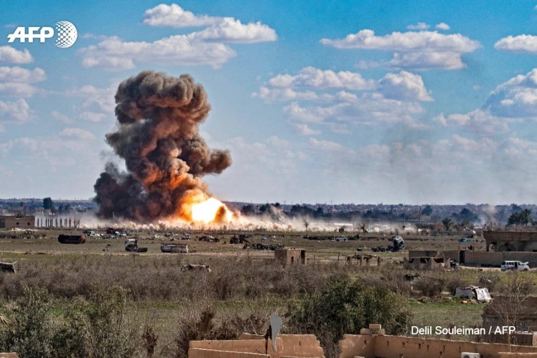 Retaking the last Daesh-held enclave in Baghouz 021