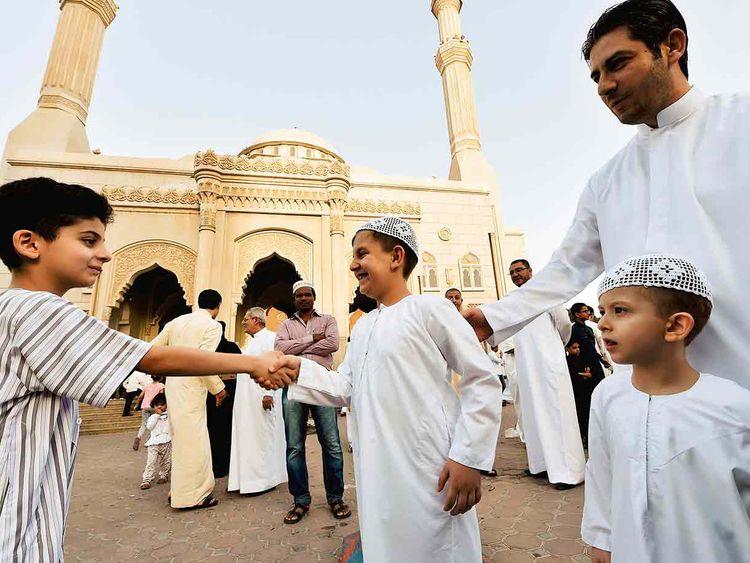 Eid wishes in UAE
