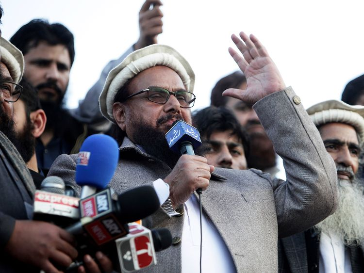 Hafiz Saeed, outlaw leader of proscribed religious group
