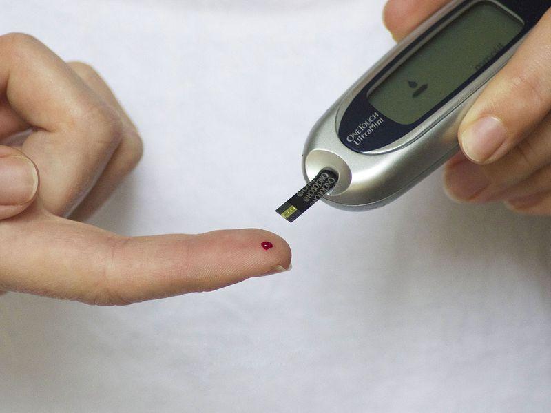 Diabetes Blood Finger Glucose Diabetic Test Meter