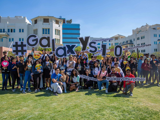 Galaxy S10 university takeover
