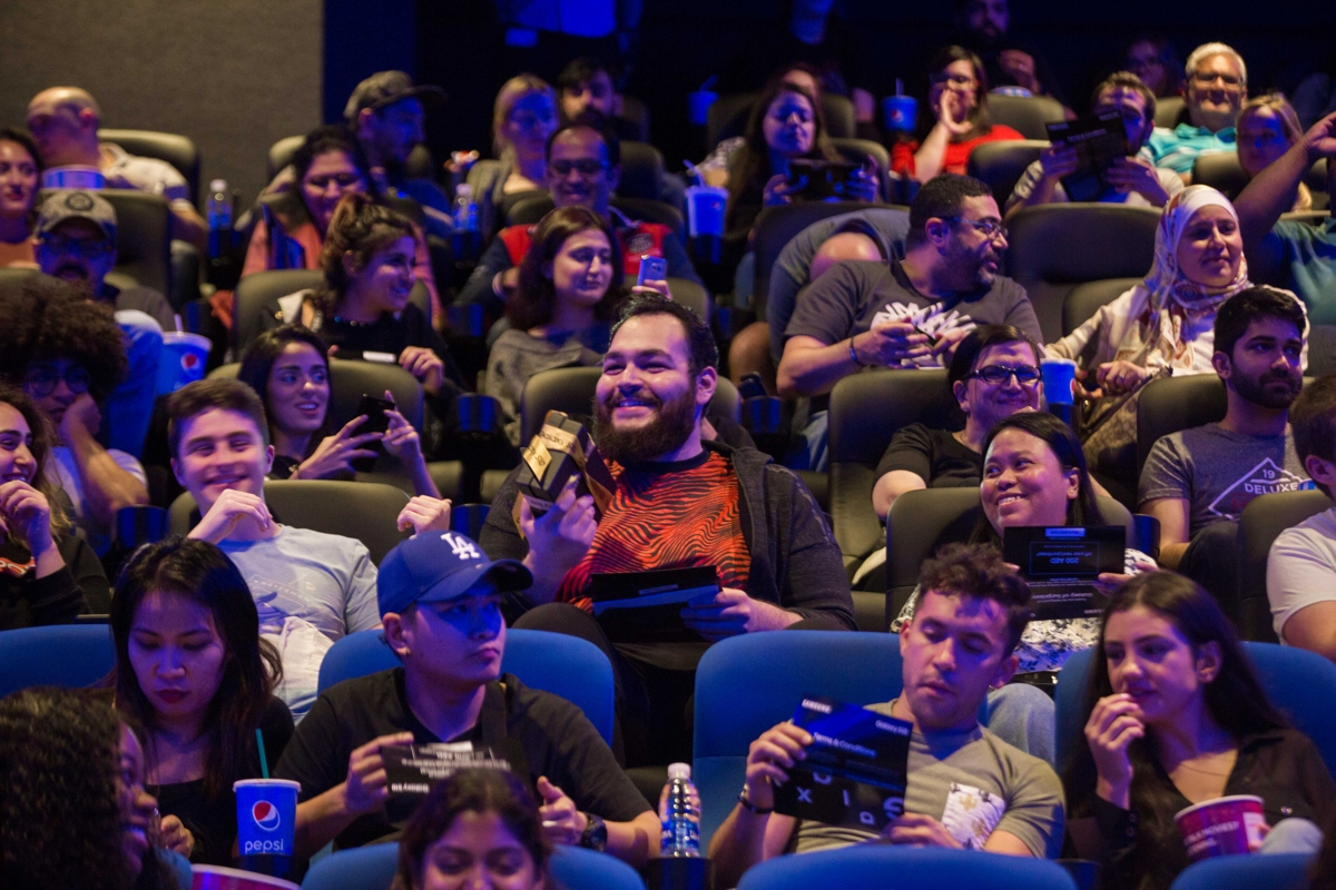 Samsung cinema fans