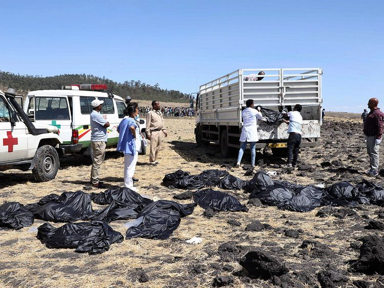 country wise details of ethiopian airlines crash victims