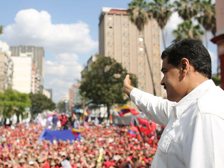 190310 Venezuela's President Nicolas Maduro