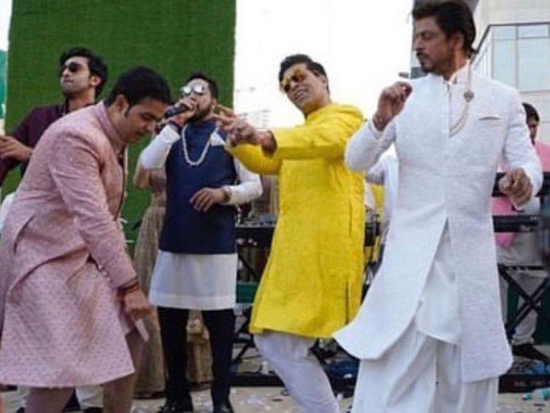 Celebrity ambani dance