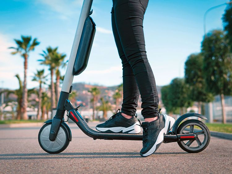 Dubai bans electric scooters, plans to develop new law