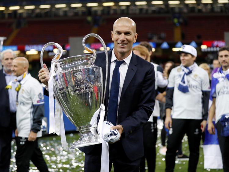 9ad6392061ed Zinedine Zidane returning to coach Real Madrid