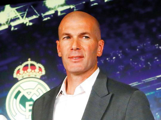 190312 Zinedine Zidane