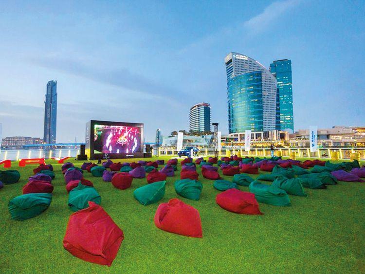 Dubai Festival City Outdoor Cinema