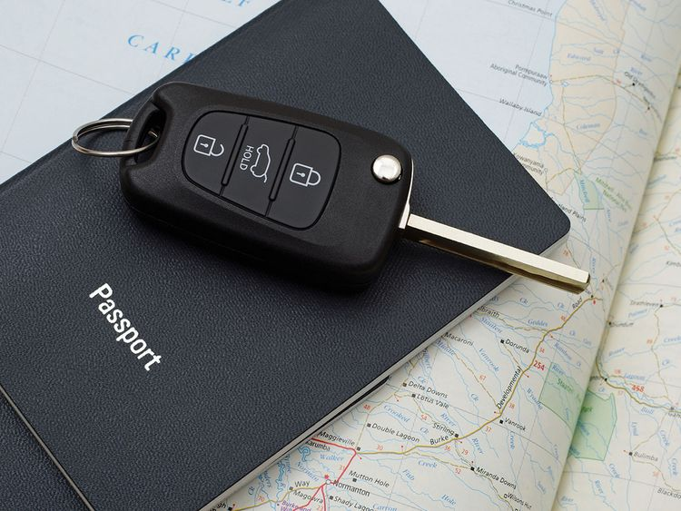 Car rentals in UAE can't keep your passport or ID as