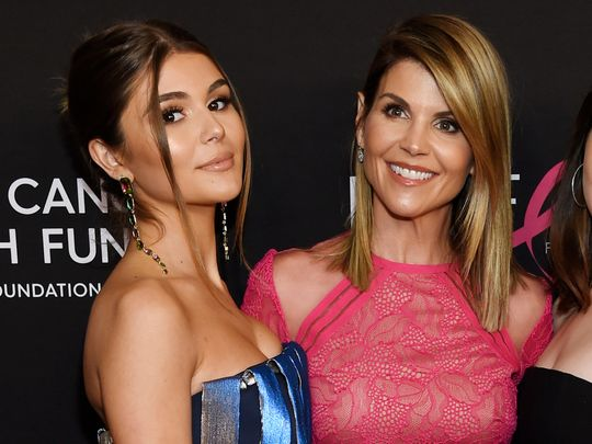 Olivia Jade and Lori Loughlin in College Admission Bribery Scandal