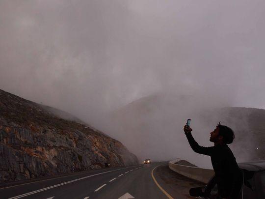 Fog Jebel Jais UAE