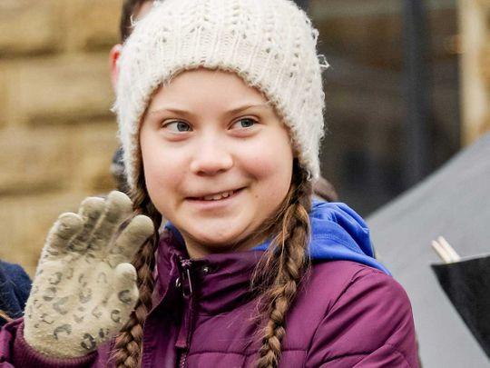 Swedish climate activist Greta Thunberg 201903`4
