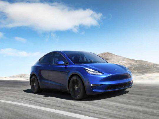 Tesla Model Y electric SUV 20190315