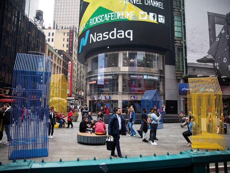 Markets: Nasdaq, S&P 500 end at records as tech shares gain