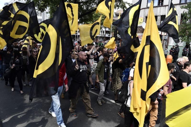 Identitarian movement Berlin