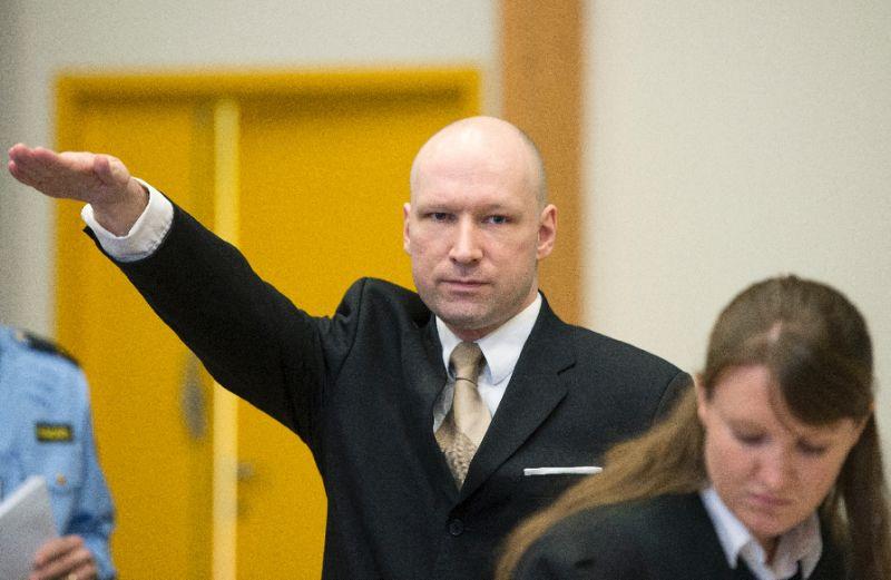 Norway's Anders Breivik
