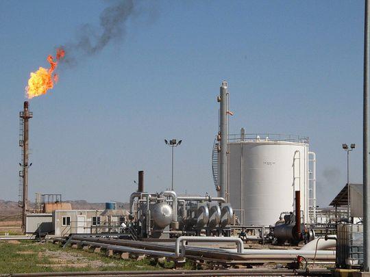 Abu Dhabi oil block