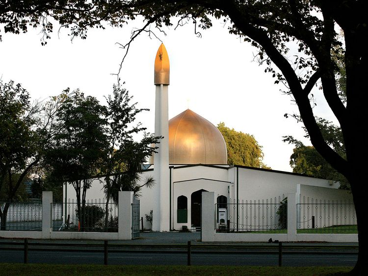 Christchurch mosque