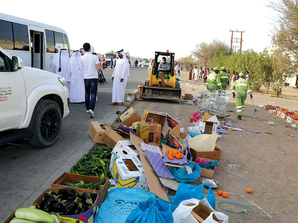 Al Ain Municipality rotten food