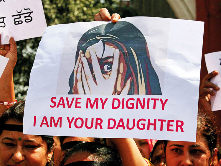 India minor rape protests