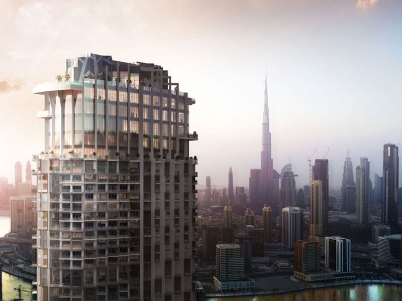 Look: One of UAE's tallest towers rising in Dubai, to open in 2020