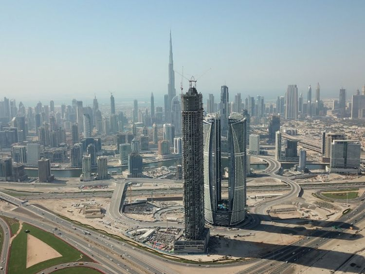 Look: One of UAE's tallest towers rising in Dubai, to open