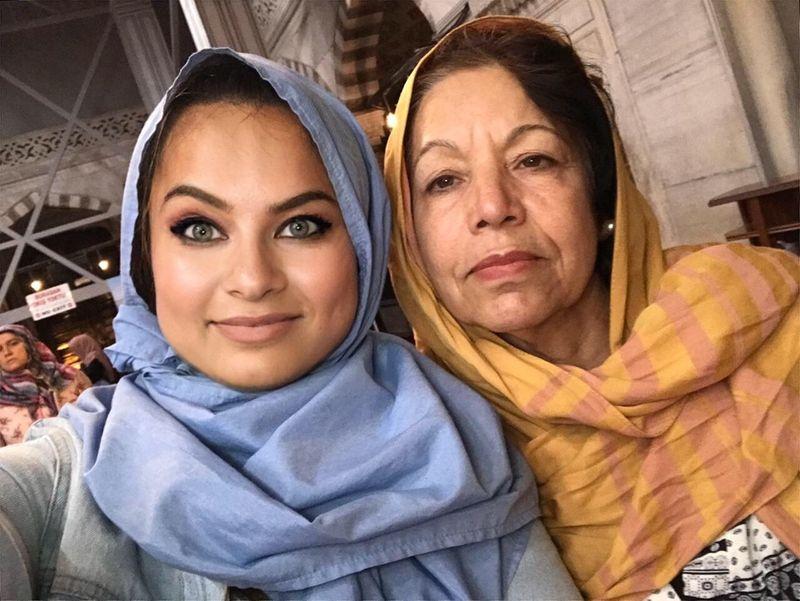 Maz and Mum
