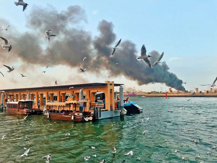 190322 dhow fire