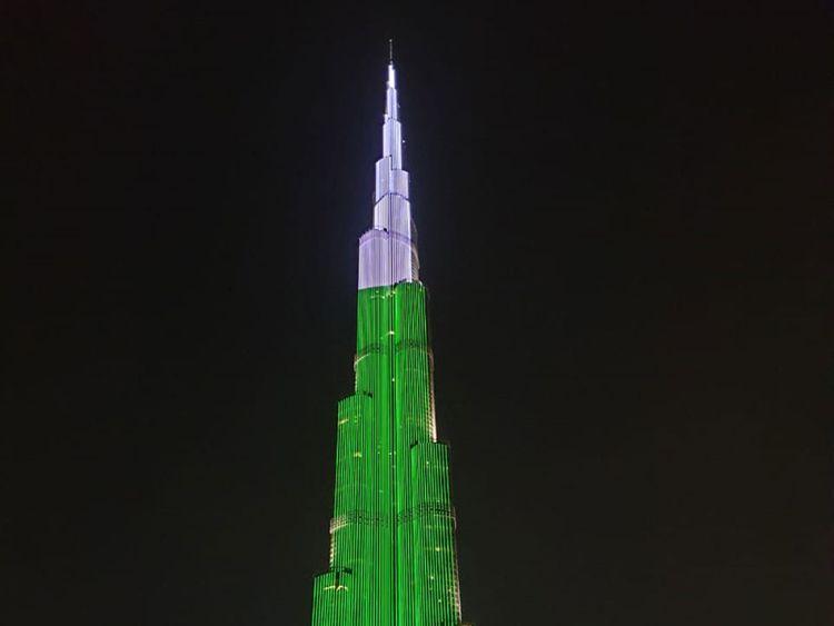 Burj Khalifa half