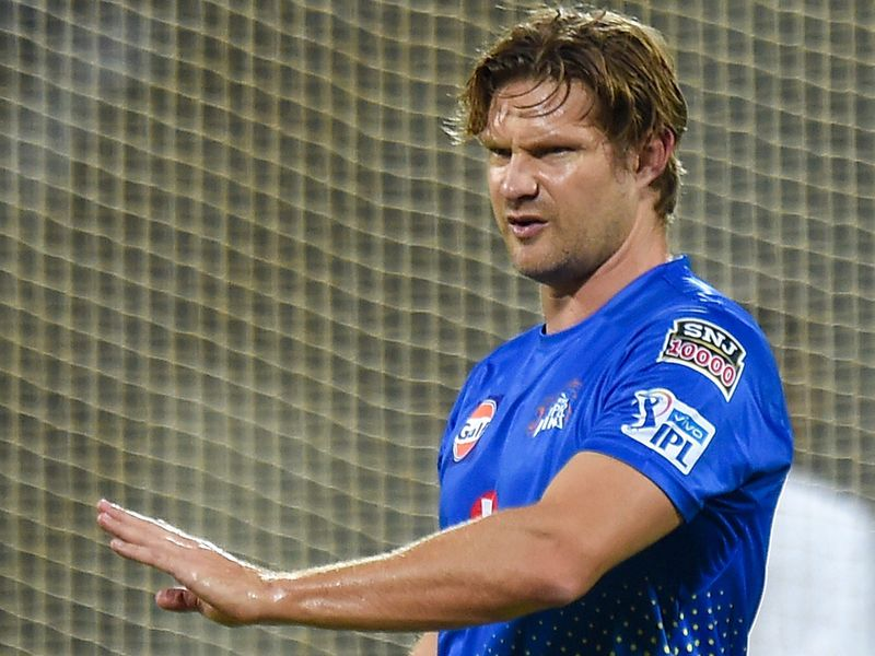 Chennai Super Kings (CSK) player Shane Watson