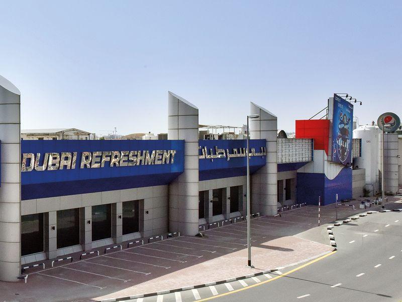 Dubai Refreshments factory at Al Quoz
