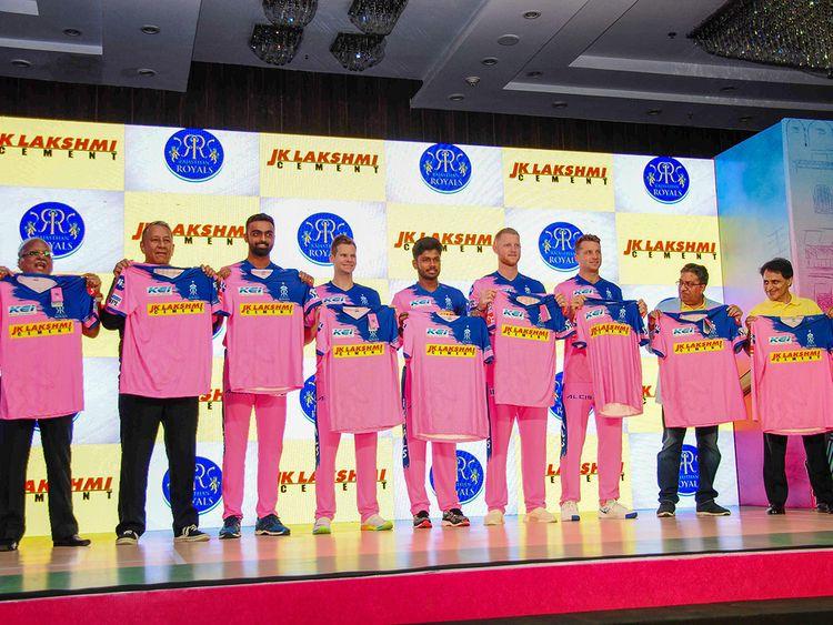 Rajasthan Royals players