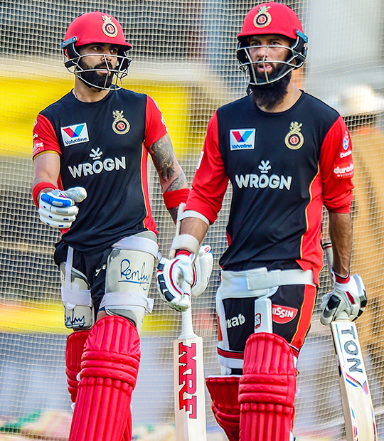 Skipper of Royal Challengers Bangalore (RCB) Virat Kohli