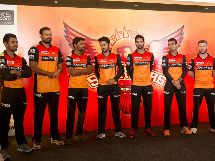 Sunrisers Hyderabad cricket team members