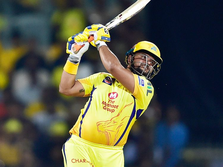 Chennai Super Kings (CSK) player Suresh Raina