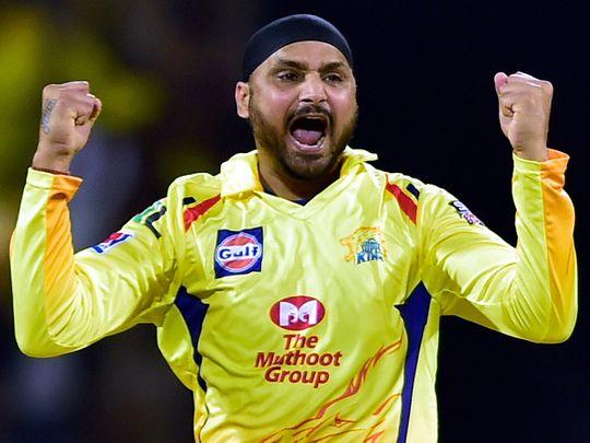 Chennai Super Kings player Harbhajan Singh
