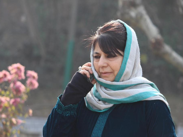 Mehbooba Mufti, the first woman Chief Minister of Jammu and Kashmir 012