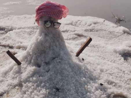 Snowman in Umm Al Quwain
